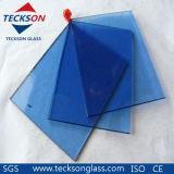 arte del cinese di 4mm sul vetro float riflettente blu scuro 2140X1650