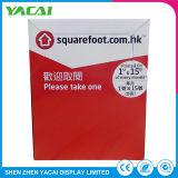 Papel resistente Conecte o suporte de segurança do piso da caixa de exibição