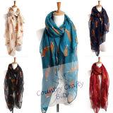 Belle Little Fox foulard Imprimer Mesdames écharpe châle foulard Infinty Animal