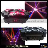 Indicatore luminoso mobile della testa 9PCS 10W del ragno chiaro del DJ mini