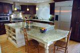 Классическая мебель кухни твердой древесины грецкого ореха