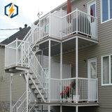 Balustrades et frontière de sécurité en aluminium de balcon d'OEM