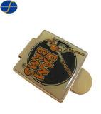 Alta calidad de forma personalizada dinero Metal Clip con el logotipo de impresión