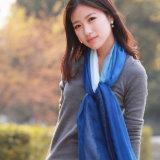 Form 30%Silk u. 70%Modal mischte eingetauchten sterbenden Schal (12-BR030820-1.9)