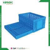 Conteneur de stockage en plastique pliables en plastique de déplacement de la case
