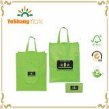 Migliore sacchetto non tessuto pieghevole di vendita di immagine di schermo/sacchetto non tessuto riutilizzabile su ordinazione dei pp