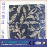 Игольчатый перфорированного нетканого материала ткани декоративные Пэт звуковой платы