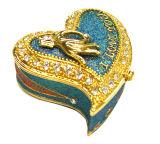 Boîte de bijoux, boîte de bijoux d'alliage, boîte de bijoux en métal (33)