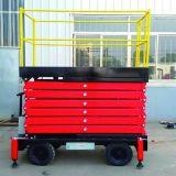 Levage mobile de ciseaux de machines de construction (hauteur maximum 7m)