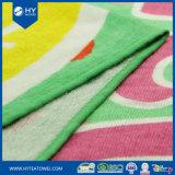 卸し売り高品質の100%年の綿の習慣によって印刷されるビーチタオル