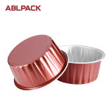 Taza de la magdalena del papel de aluminio de la alta calidad para la hornada