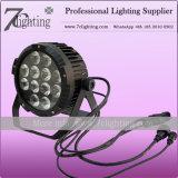Водонепроницаемый 12X15W RGBWA LED PAR канистры с внутреннего контроля