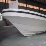 Barco de pesca de 4 a 8 m de fibra de vidro Panga com opção Hardtop