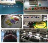 Holiauma 4ヘッド15カラー管状の帽子の布のコンピュータの刺繍機械価格