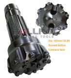 Baixo do botão DTH Ql50-140mm do furo para Ql50 Hammer