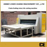 Máquina cortando giratória ondulada do alimentador Cx-2250 Chain