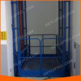 هيدروليّة [غيد ريل] بضائع شحن مصعد لأنّ مستودع