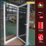 UPVC triple acristalamiento de plástico de la puerta de Casement francés