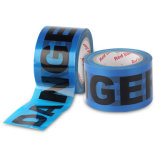 중국 공급자 파란과 백색 색깔 PE 약해지는 테이프