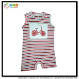 Gots Vêtements pour bébé Summer Sleeveless Infants Romper