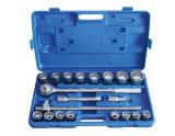 """le serie d'acciaio di 21PCS 3/4 """" Crmo digitano un insieme della chiave a bussola dell'utensile manuale"""