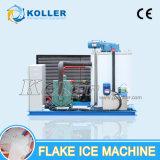 Salzwasser-Flocken-Eis-Hersteller-Maschine China-Koller mit PLC-Controller für Fischerboot
