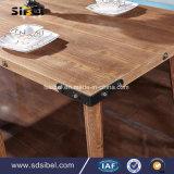 Tableau dinant Sbe-CZ0616 de Retaurant en bois solide