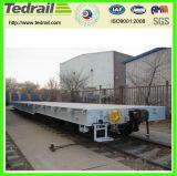 De Vlakke Wagen van de spoorweg; De Vlakke Wagen van de vracht; Wagen voor Verkoop, Gebruikte Vlakte