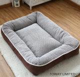 Almofada para cães de veludo para almofadas flutuantes e laváveis laváveis