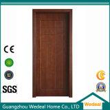 Porte en bois massif avec film en PVC et panneau WPC