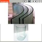 la stampa del Silkscreen di 3-19mm/incissione all'acquaforte acida/hanno glassato/Irregular del reticolo piegato temperato/vetro temperato per il portello/portello acquazzone/della finestra del certificato di SGCC/Ce&CCC&ISO