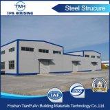 Edificio prefabricado del almacén del metal de la construcción al por mayor de la estructura de acero