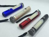 Het mini Flitslicht van het Aluminium met de Basis van de Magneet