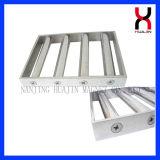 Filtro magnético forte com as 13 barras do ímã de dois andares