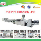 El doble de la cavidad de PVC flexible de plástico de la línea de extrusión de tubo de conductos eléctricos
