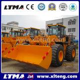5 de Tractor van de Lader van het Wiel van de ton Zl50 met de Lader van het VoorEind