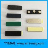 Aimant magnétique réutilisé par luxe d'insigne nommé en métal de 2017 coutumes