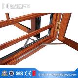 De Openslaand ramen van het Aluminium van Guangdong met het Slot van de Veiligheid