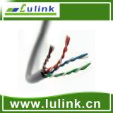 Pasado la prueba de Fluke Cat5e de cobre UTP de red de cable LAN