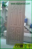 イランの市場のための木製のベニヤ3mm HDFのドアの皮