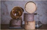 Cesta hecha a mano de la paja de la venta caliente (BC-S1256)