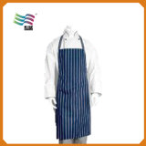 Custom Practical Sky Blue Kitchen Apron with has Big Poket