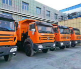8X4 40-50 tonnes de POUVOIR d'ÉTOILE de camion à benne basculante