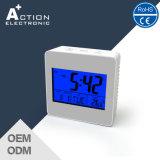 LED 역광선 음악 경보 디지털 시계