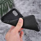 Realer echtes Leder-Telefon-Kasten für iPhone 8