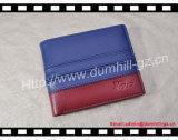 Desenhador sua carteira Assorted da tendência do Mens do couro da cor