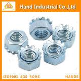 Écrou borgne métrique de la taille K du prix usine d'acier inoxydable solides solubles 304
