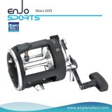 Mars High-Strength Engineering Plastic Body 2 + 1 Bearing Sea Fishing Trolling Fishing Gear (Mars 045)