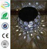 Metallkugel-Diamant-heller Yard-Solarstock für Garten-Dekoration