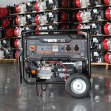Bison (China) BS4500m (H) 3kw 3kVA Key Start Easy Move with Wheels and Handle Cam Professional Gasoline Generator